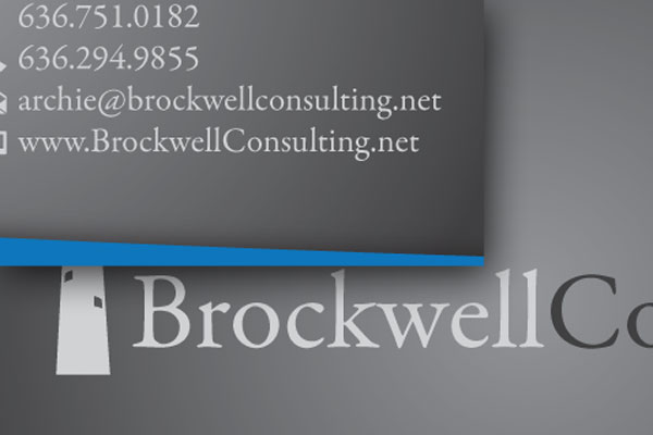 Brockwell Consulting Business Cards