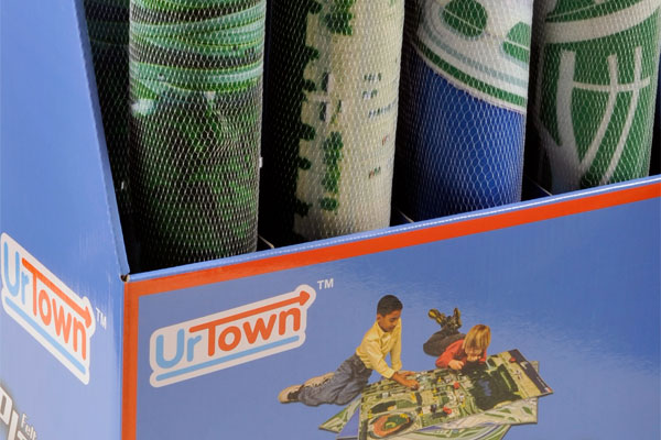 UrTown Playmat Display