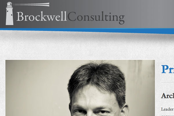 Brockwell Consulting Website Screenshot