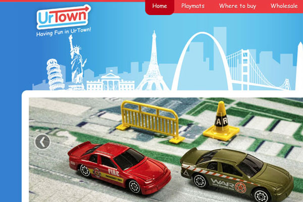 UrTown Website Screenshot